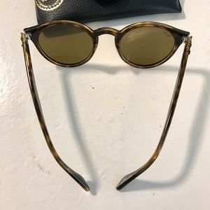 Ray-Ban Accessories - Ray Ban 2180 Round Tortoise Shell Sunglasses